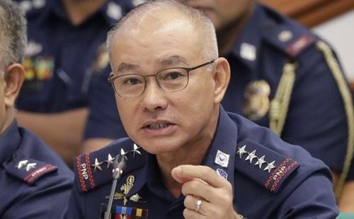 Tướng Oscar Albayalde trong một cuộc họp ở Philippines hôm 3/10. Ảnh: AP.