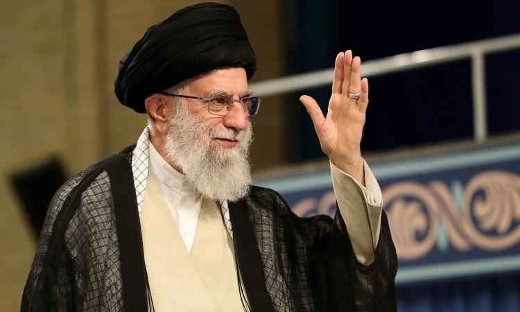 Lãnh tụ tối cao Iran Ayatollah Ali Khamenei phát biểu trong một sự kiện ở Tehran tháng 7/2019. Ảnh: AFP.