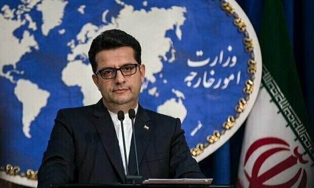 Abbas Mousavi, phát ngôn viên Bộ Ngoại giao Iran. Ảnh: Tehran Times.