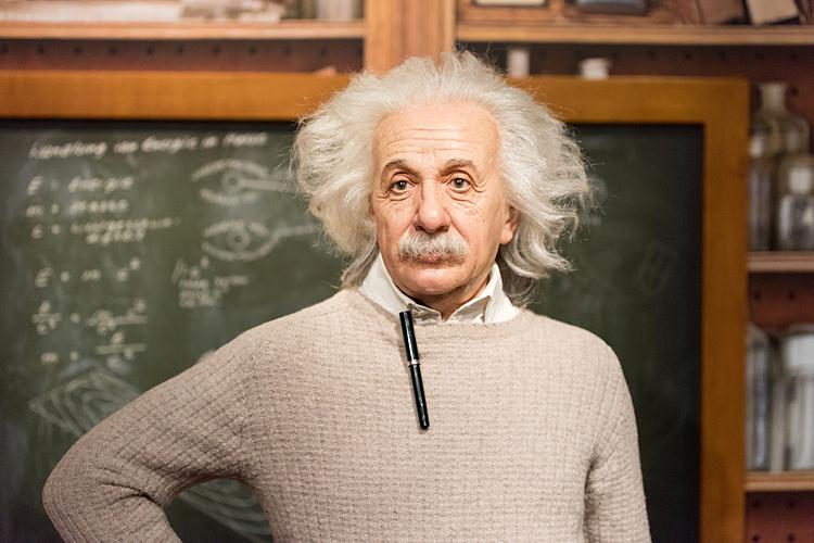 Albert Einstein. Ảnh: Shutterstock