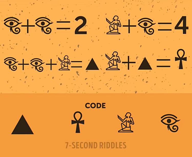 Thử thách suy luận với bốn câu đố