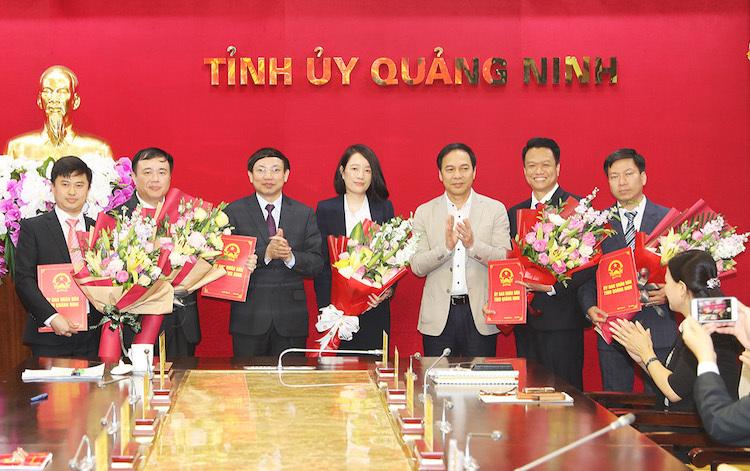 5 lãnh đạo cấp sở được bổ nhiệm qua thi tuyển - ảnh 1