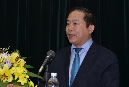 Ông Vũ Anh Minh. Ảnh: Tổng công ty Đường sắt Việt Nam