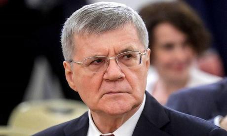 Tổng Công tố Nga Yuri Chaika. Ảnh: TASS.