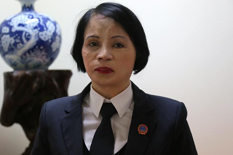 Bà Nguyễn Thị Kim Loan. Ảnh: Phạm Dự.