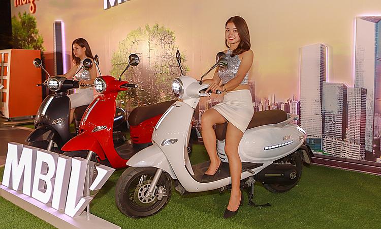 Mẫu MBI V ra mắt tại Hà Nội. Ảnh: Lương Dũng
