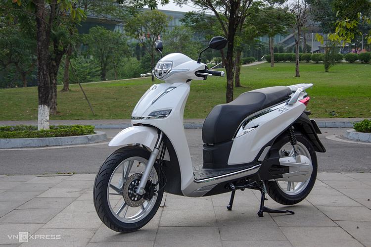 Một mẫu Pega eSH tại Hà Nội. Ảnh: Lương Dũng