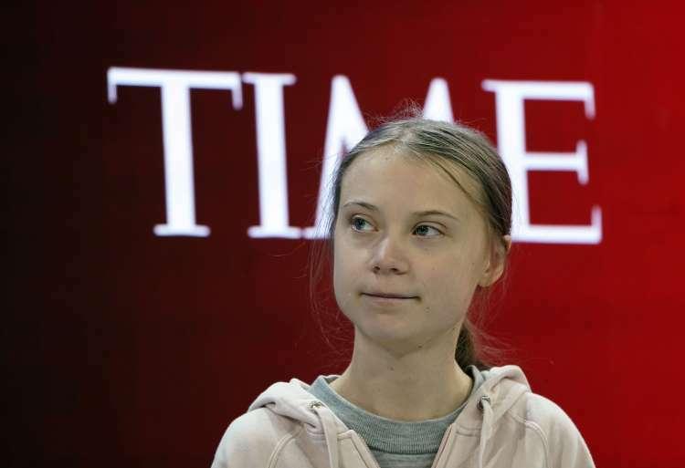 Trump nói bị Thunberg đánh bại trên tạp chí Time - ảnh 2