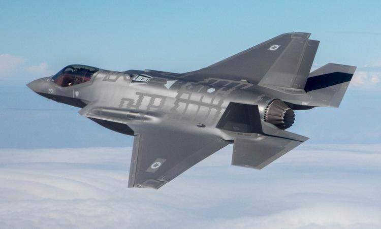 Tiêm kích F-35I của Israel bay huấn luyện năm 2019. Ảnh: IAF.