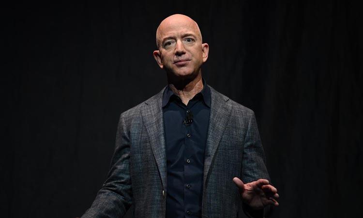 Ông chủ Amazon Jeff Bezos tại một sự kiện ở Washington, Mỹ hồi tháng 5/2019. Ảnh: Reuters.