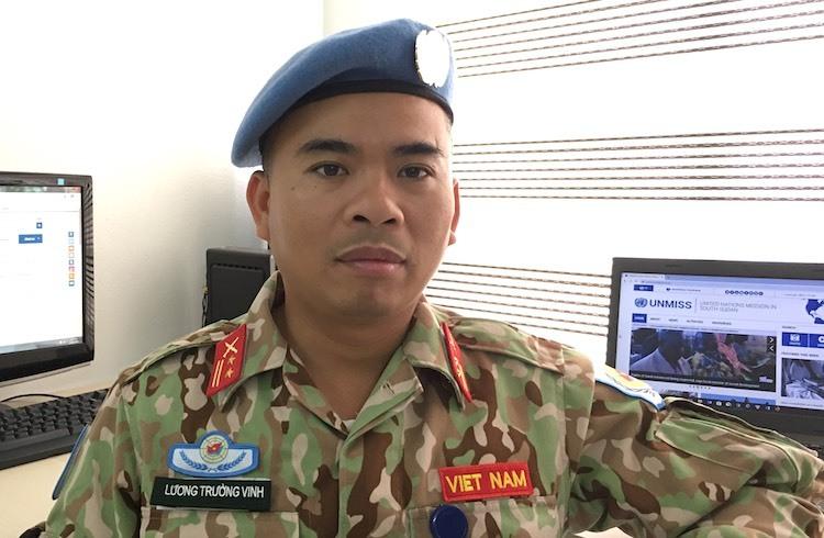 Sĩ quan Việt Nam đầu tiên trúng tuyển cán bộ trụ sở Liên Hợp Quốc - ảnh 1