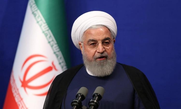 Tổng thống Iran Hassan Rouhani phát biểu tại Tehran hôm 1/6/2019. Ảnh: Reuters.