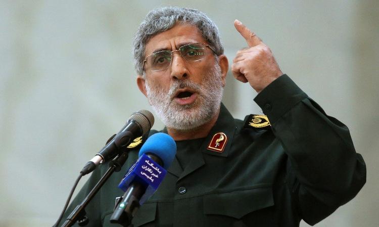 Mỹ cảnh cáo tư lệnh đặc nhiệm Iran - ảnh 1