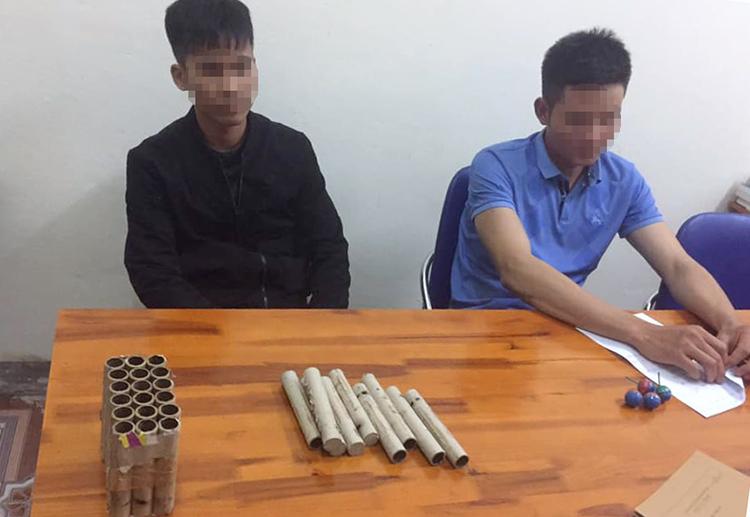 Hơn 150 người bị phạt vì đốt pháo - ảnh 1