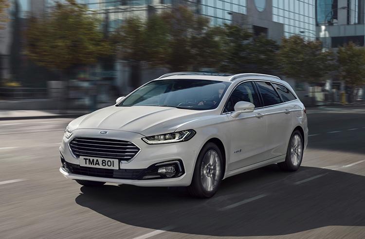 Ford Mondeo hybrid 2019 ở dạng wagon. Ảnh: Ford