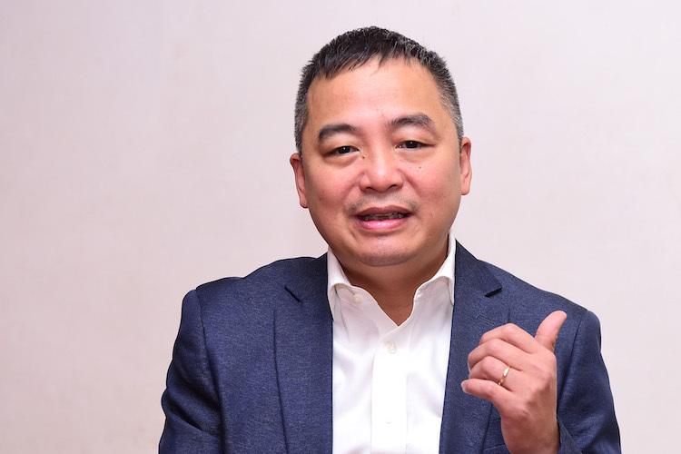 PGS.TS Nguyễn Lân Hiếu, Giám đốc Bệnh viện Đại học Y Hà Nội. Ảnh: Giang Huy