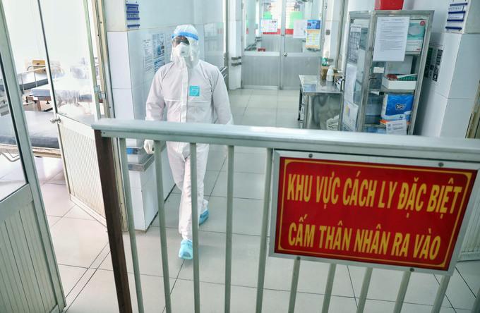Khu điều trị người nhiễm nCoV ở Bệnh viện Chợ Rẫy