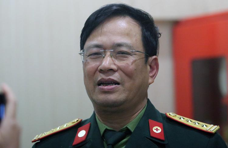 Đại tá Nguyễn Viết Thắng - Chủ nhiệm quân y Bộ tư lệnh thủ đô. Ảnh: Võ Hải.