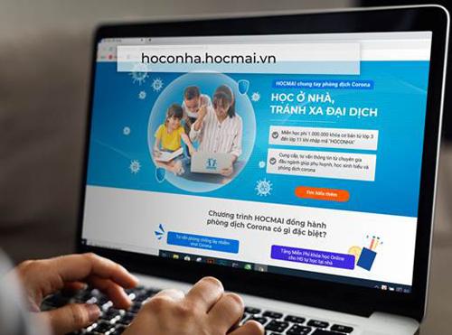 Mở cổng học trực tuyến miễn phí cho học sinh học tại nhà tránh dịch cúm Corona.