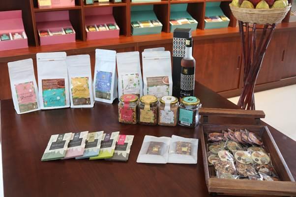 Các sản phẩm được chế biến từ cacao.