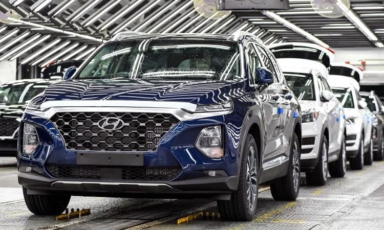 Nhà máy tại Ulsan nằm trong số ba nhà máy phải dừng sản xuất. Ảnh: Hyundai