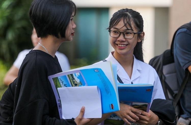 Thí sinh tham dự kỳ thi THPT quốc gia 2019. Ảnh: Quỳnh Trần