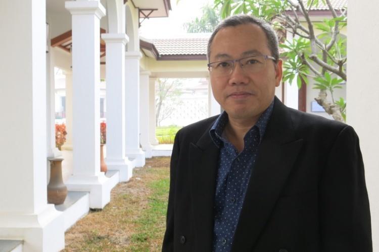 Tiến sĩ Hatda tại Diễn đàn khu vực các bên liên quan lần thứ 9 ngày 6/2 tại Luang Prabang, Lào. Ảnh: VA.