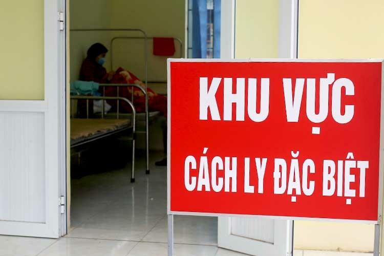 Khu cách ly các trường hợp nghi nhiễm nCoV ở Trung tâm y tế Tam Đảo (Vĩnh Phúc). Ảnh: Tất Định.