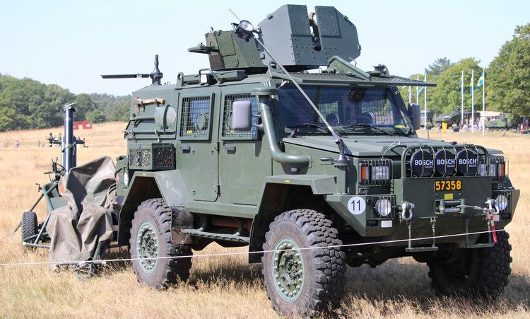 Xe thiết giáp RG-32 tham gia diễn tập hồi năm 2015. Ảnh: Wikimedia Commons.