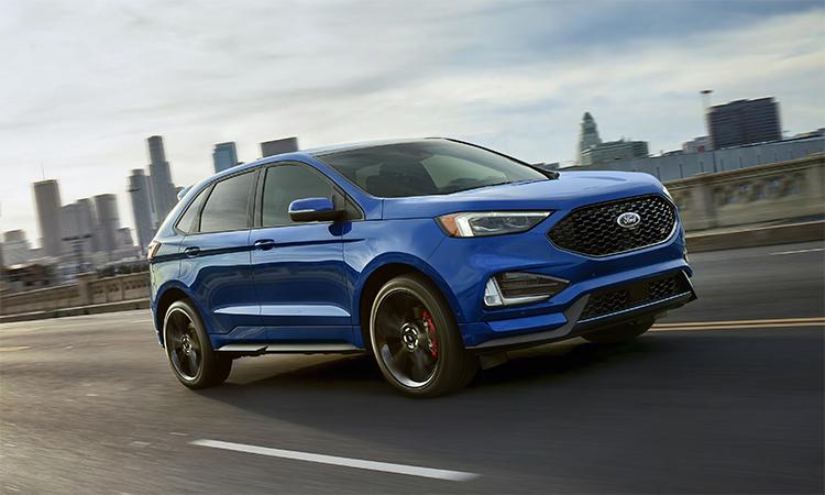 Ford Edge giá từ 31.100 USD. Ảnh: Ford.