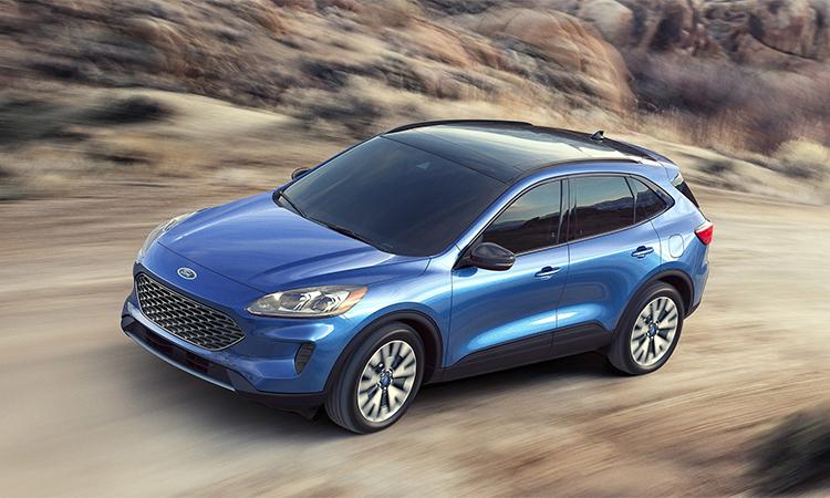 Ford Escape 2020 giá từ 24.900 USD.