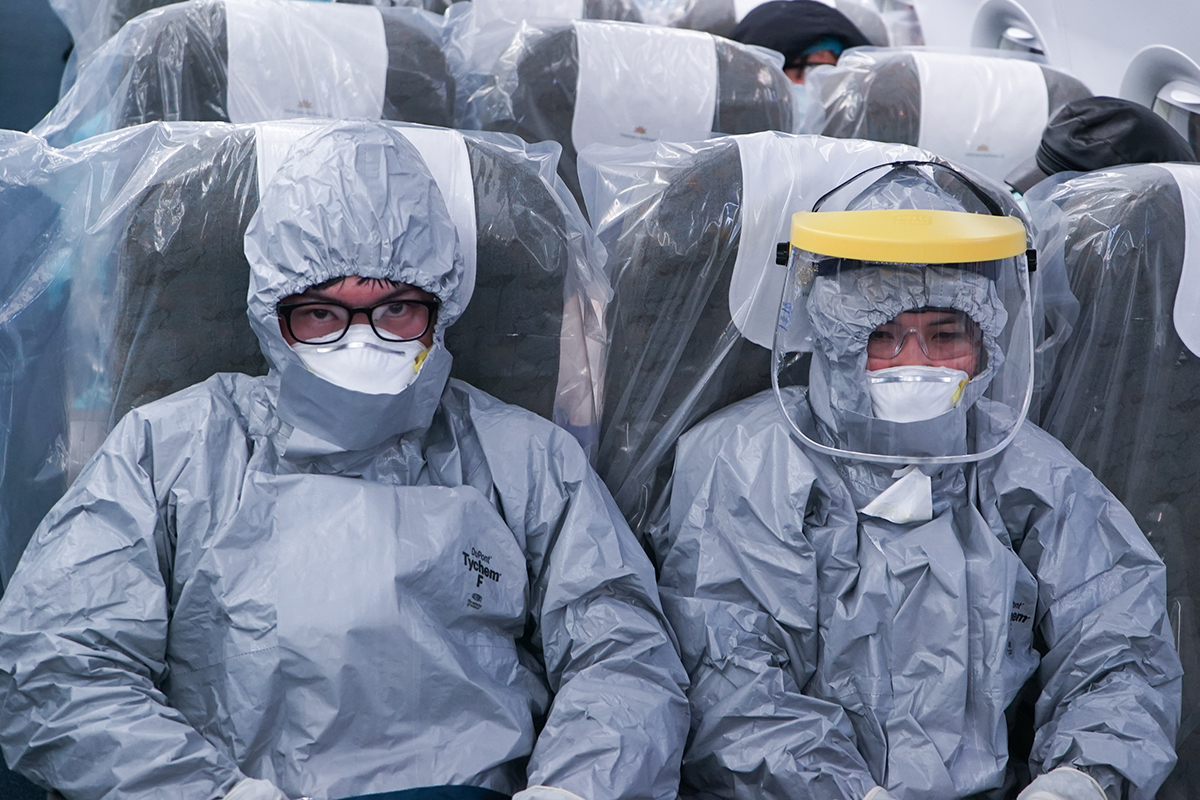 Ly kỳ chuyến bay đặt biệt đưa công dân Việt Nam từ Vũ Hán về nước