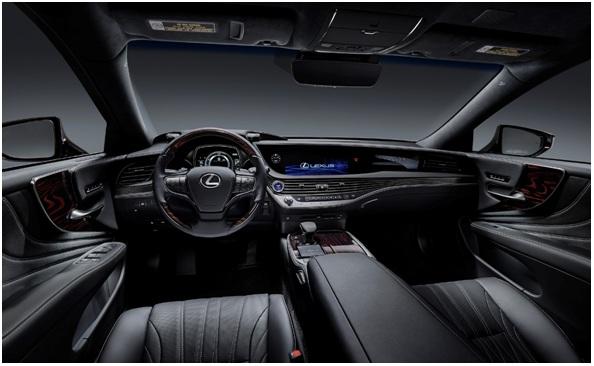 Nội thất Lexus LS 2020.