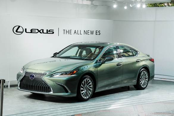 Lexus ES 300h phiên bản 2020.