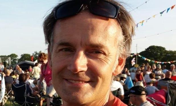 Doanh nhân Steve Walsh, người nhiễm nCoV sống tại Đông Sussex, Anh. ẢNh: BBC.