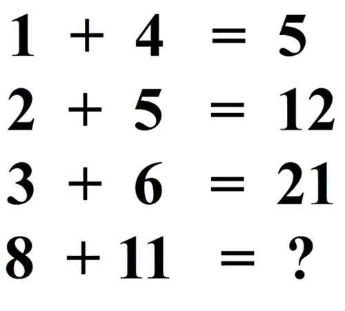 Thử sức IQ với năm câu đố toán học