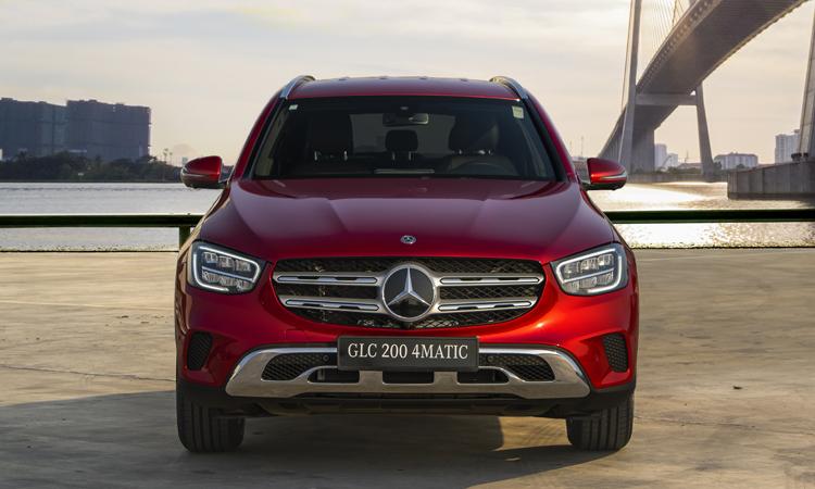 GLC 200 phiên bản 4MATIC, giá từ 2,04 tỷ đồng. Ảnh: Mercedes