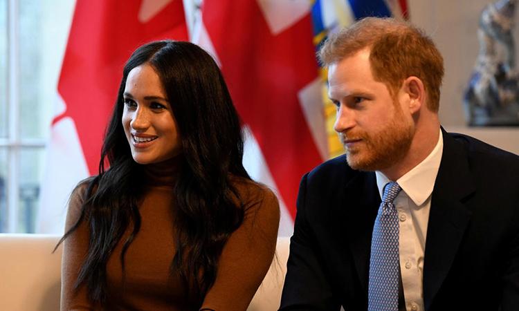 Harry và Meghan tại một sự kiện ở London ngày 7/1. Ảnh: Reuters.