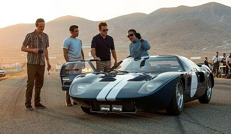 Một phân cảnh trong phim Ford v Ferrari. Ảnh: Business Insider