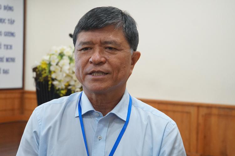 Ông Nguyễn Văn Hiếu, Phó giám đốc Sở Giáo dục và Đào tạo TP HCM. Ảnh: Mạnh t.ùng.