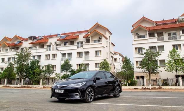 Toyota Corolla Altis phiên bản mới tại Việt Nam.