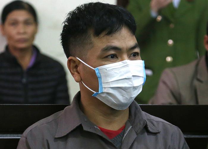 Tài xế Ngô Văn Sơn. Ảnh: Phạm Dự.