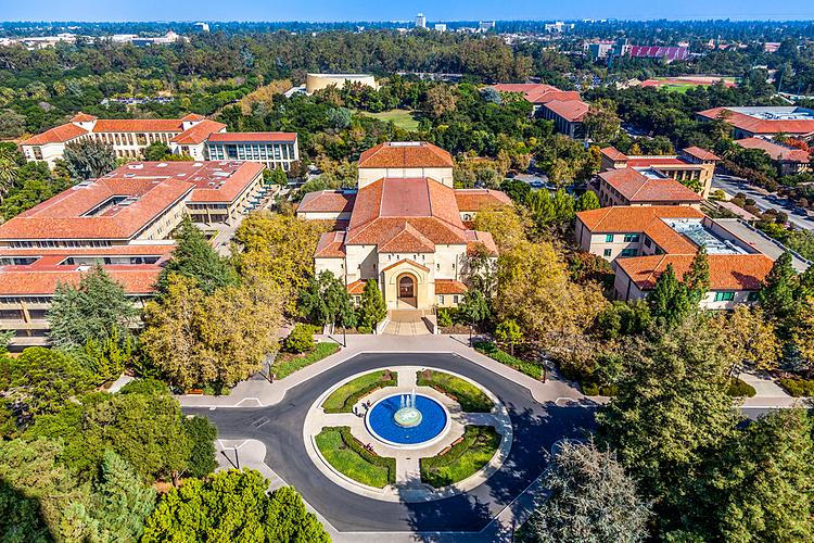 Khuôn viên Đại học Standford, Mỹ. Ảnh: Shutterstock