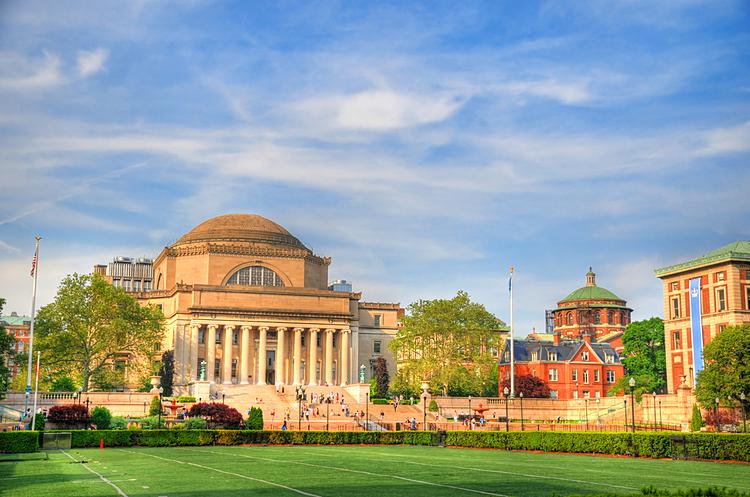Đại học Columbia, Mỹ. Ảnh: Shutterstock