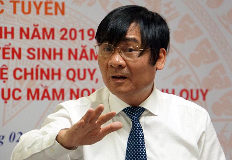 Ông Phạm Như Nghệ nêu quan điểm tại hội nghị. Ảnh: Mạnh Tùng.