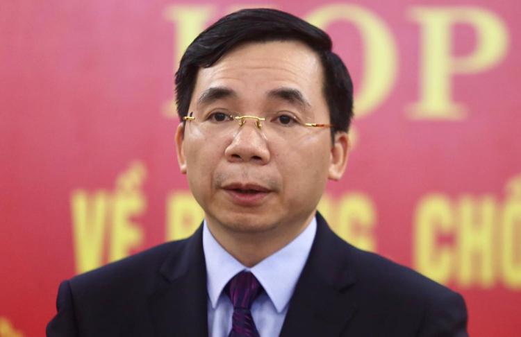 Ông Bùi Huy Vĩnh, Trưởng ban Tuyên giáo Tỉnh ủy Vĩnh Phúc. Ảnh: Gia Chính