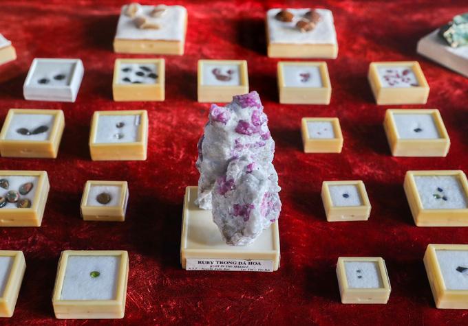 Bảo tàng trưng bày đá quý