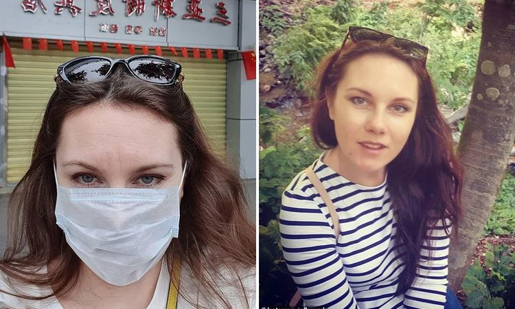 Alla Ilyina, người trốn khỏi khu cách ly virus corona tại thành phố St. Petersburg, Nga hôm