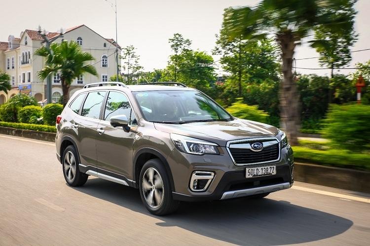 Subaru Forester được ưu đãi 180 triệu đồng.