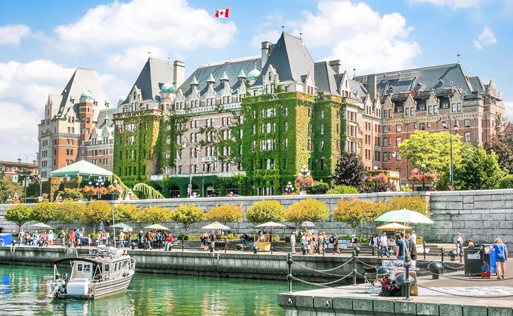 Cảng nội địa Victoria ở Vancouver, Canada. Ảnh: Shutterstock.